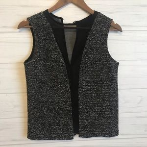 Harlowe and Graham Tweed Top. Size Small.
